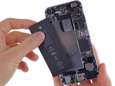 Замена аккумулятора, батареи смартфона,  мобильника